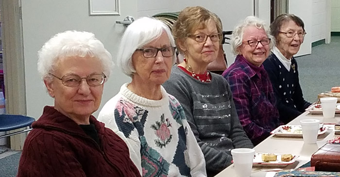 women's bible study at blythefield crc