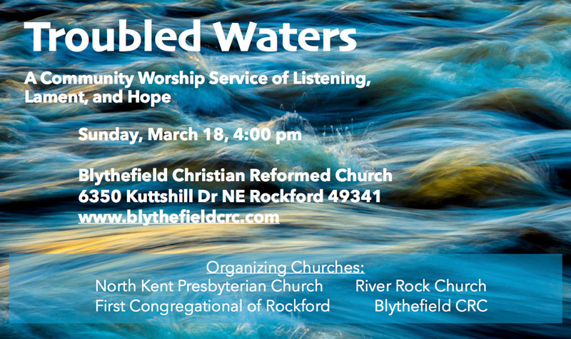 Join Us for 'Troubled Waters'