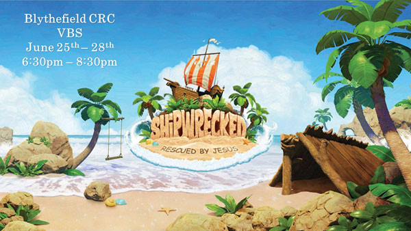 blythefield crc vacation bible school 2018