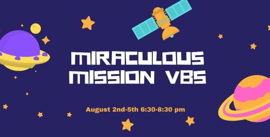 vacation bible school miraculous mission 2021